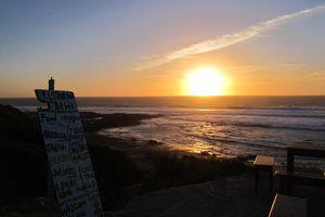 Sunset sur le reef d'Imsouane