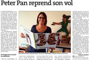 ER 01/10/2013  Peter Pan reprend son vol