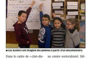 ER 01/12/2014 : Sur le chemin de l'école inspire les élèves