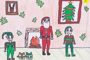 Résultats du concours de dessins : thème de Noël !
