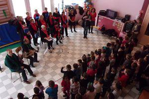 Rencontre avec les enfants - école Jean Feidt