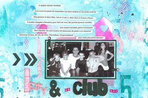 Le Club des Cinq_Challenge 7 Scrap,Thème&Sketch