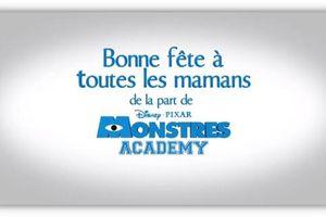 Monstres Academy : découvrez le spot spécial Fête des Mères !