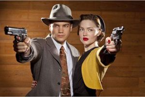 BONNIE & CLYDE (BANDE ANNONCE VO 2013) avec David Carpenter, Joseph Randy Causin, John C. Coffman