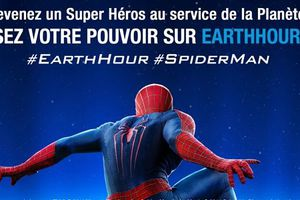 The Amazing Spider-Man : Le Destin d'un Héros - Earth Hour - Marc Webb - Emma Stone - Andrew Garfield