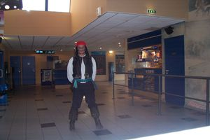 ERIC-C EST JACK SPARROW (PIRATES DES CARAIBES 2) PHOTOS