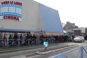 Avant-première du film Supercondriaque à Dinan, le 2 février 2014