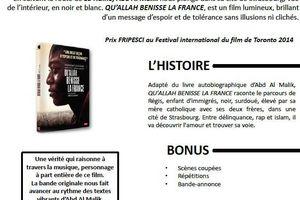 QU'ALLAH BÉNISSE LA FRANCE en DVD le 6 juin 2015 chez Ad Vitam