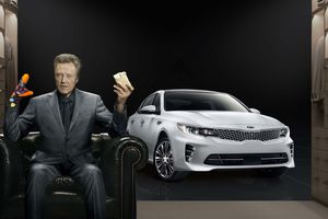 Christopher Walken - Kia Optima (PUB 2016)
