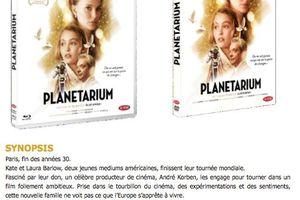 PLANETARIUM, un film de Rebecca Zlotowski, en DVD et Blu-ray le 21 mars 2017 chez Ad Vitam
