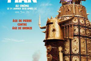 CRO MAN le nouveau film des studios Aardman - Le 31 janvier 2018 au cinéma