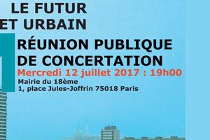 Chapelle Charbon : réunion publique sur le projet urbain le...12 juillet !