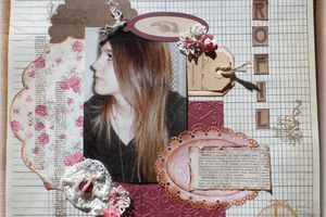 Des pages de scrapbooking ...