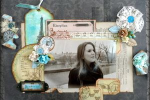 made by Carole : page : La Parisienne