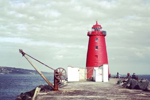 Je vous fais visiter Dublin : The Poolbeg Lighthouse