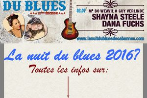 NUIT DU BLUES 2016