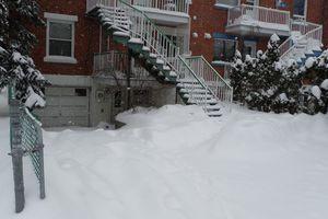 Ma première tempête de neige !!!