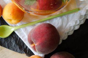 Sangria blanche aux fruits d'été