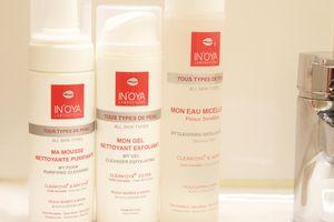 Je nettoie ma peau tout en douceur avec In'Oya