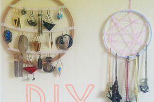 Rangement à bijoux DIY