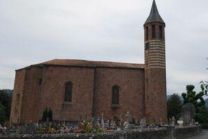 Eglise Saint Julien , Ossès