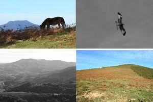Pic Ezcondray depuis le Col de Légarré ( Pyrénées-Atlantiques 64 ) rando