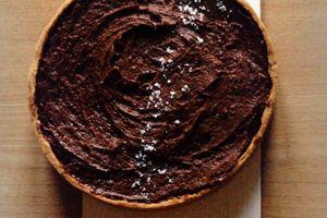 Ma tarte au chocolat