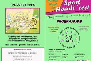 SPORT HANDI'RECT 20 MAI 2015