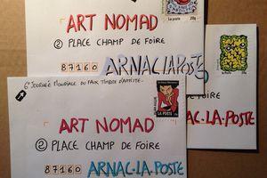 C'est aujourd'hui la 6°Journée mondiale du faux timbre d'artiste !!