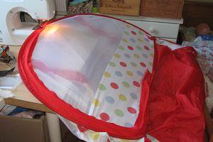 Raccomoder une tente