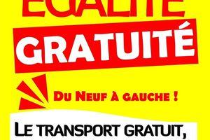 LA GRATUITE DES TRANSPORTS EN COMMUN CONTRE LA POLLUTION