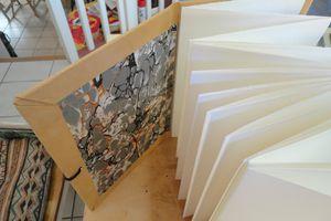 Atelier Fabrication de carnet 21 juin