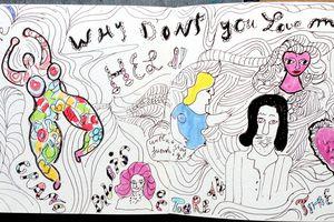 Niki Saint Phalle , exposition colorée