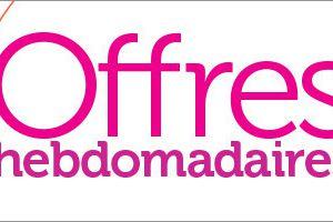 Offres Hebdomadaires + Vidéo Sale a bration