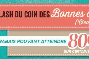 Coin des Bonnes affaires (clearance Rack)