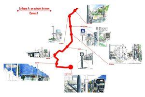 En suivant le tram # carnet 1
