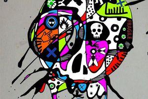 """Skull 01 01 2015 pour """"Tracks"""""""