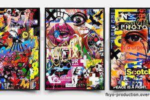 Accrochage, Mix numérique, 2015