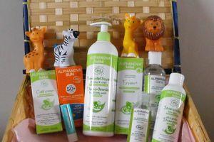 Alphanova et sa gamme de soin pour bébés et enfants