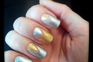 Vernis golden rose Swatch