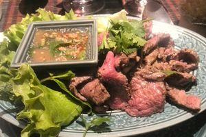 Lao-Siam test d'un restaurant laotien et thaïlandais