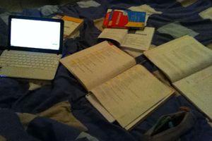 Ambiance studieuse...