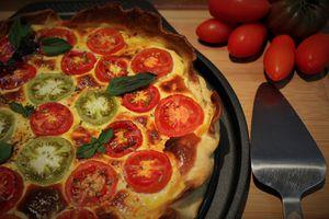 Tarte Tomates & Ricotta