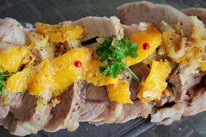 Rôti de Porc Vanillé à l'Orange et au Combava