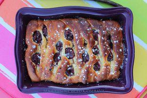 Brioche Fruitée Comme un Gâteau (au Petit Suisse)