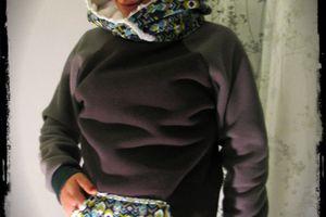 Un pull tout chaud pour Marina