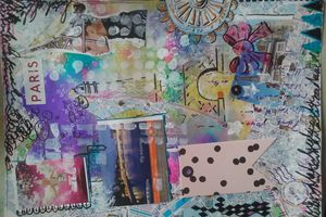 Art journal / semaine 27.documented  life  project.