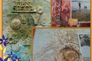Scrap mixed médias