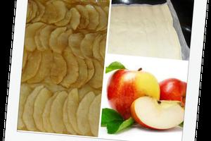 Tarte (très) fine aux pommes