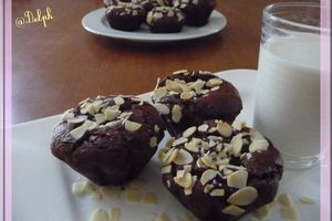 Amandines au chocolat